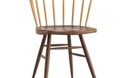 Straight Knoll sedia in legno