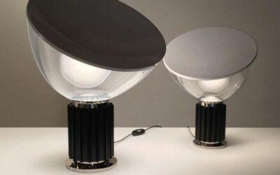 Taccia Small Flos lampada da tavolo design Castiglioni