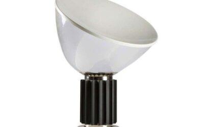 Taccia Flos lampada da tavolo diffusore in vetro