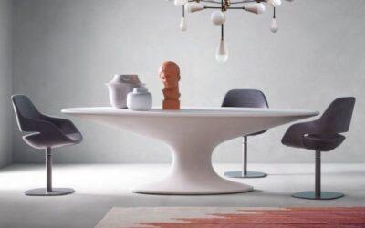 Fenice Zanotta tavolo ovale