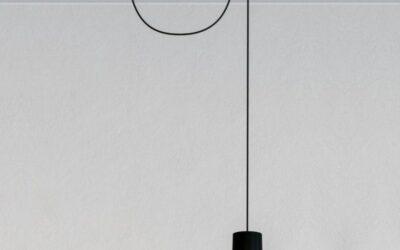 Lampada sospensione Giò Light decentrata Artemide