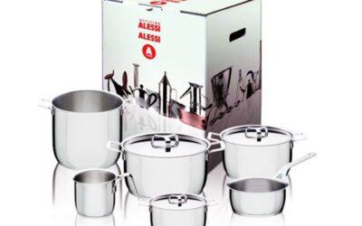 Set pentole Pots & Pans Alessi 9 pezzi