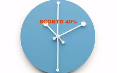Dotty Clock Alessi orologio