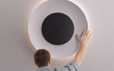 Lunaire Fontana Arte lampada da parete