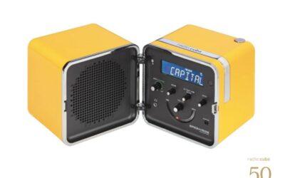 Radio cubo 50 Brionvega